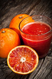 汁液桔子tarot 库存图片
