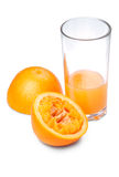 汁液橙色t 免版税库存图片