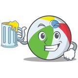 汁液球字符动画片样式 库存照片