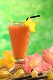 汁液番木瓜 图库摄影