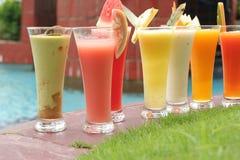 汁液种类许多 免版税图库摄影