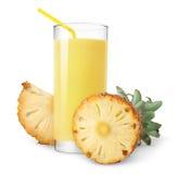 汁液菠萝 免版税图库摄影
