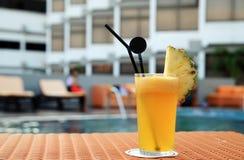 汁液菠萝 库存图片
