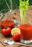 汁液蕃茄 免版税库存照片