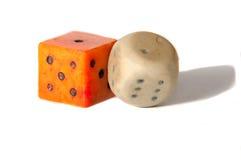 求比赛的立方 免版税库存照片