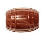 从汇集顶视图的巧克力candie 库存照片