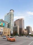 汉城交通在街市区 图库摄影