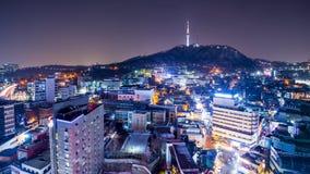 汉城地平线 图库摄影