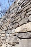 汉城堡垒墙壁  库存图片