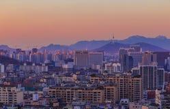汉城市 库存照片