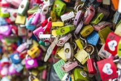 汉城,大韩民国- 2月09 :数千万能钥匙 图库摄影