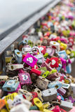 汉城,大韩民国- 2月09 :数千万能钥匙 免版税库存照片