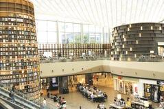 汉城,韩国, 2017年8月27日, ByeollMadang Starfield Coex广场图书馆 免版税库存照片