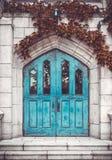 汉城,韩国- 2015年8月12日:对教堂的大门在梨花女子大学疆土-有名望的学校我 免版税库存图片
