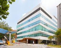 汉城,韩国- 2015年8月12日:延世大学-高端医院切断医院新的校园在汉城,韩国 免版税库存照片