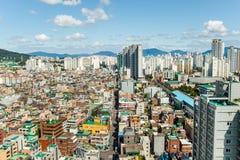 汉城,韩国- 2017年9月17日:汉城市风景照片,韩国 免版税库存照片
