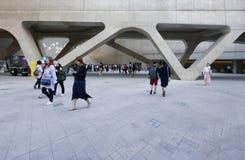 汉城,韩国5月19日2017年:Dongdaemun设计广场 库存照片