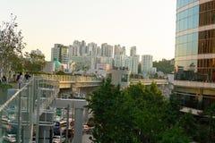 汉城7017 Skypark 库存照片