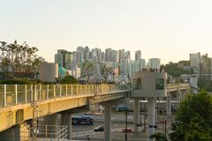 汉城7017 Skypark 免版税图库摄影