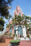 汉城catolic教会在Gangnam 免版税图库摄影