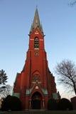 汉堡包教会 免版税库存照片