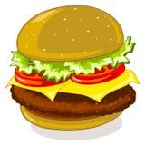 汉堡包 向量例证