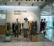 汉堡包Emquatier的,曼谷,泰国, 2 6月29日,演播室商店 库存图片