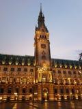 汉堡包Rathaus 免版税库存图片