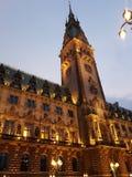 汉堡包Rathaus 库存照片