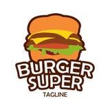 汉堡商标 库存照片