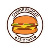 汉堡商标 免版税图库摄影
