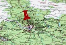 汉堡在德国 库存照片