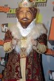 汉堡地毯国王红色 免版税库存图片