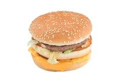 汉堡干酪 免版税图库摄影