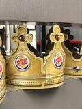 汉堡王冠 免版税库存照片