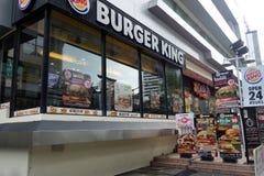 汉堡王在曼谷 图库摄影
