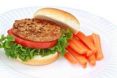 汉堡素食主义者 免版税库存图片