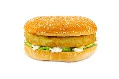 汉堡素食主义者 图库摄影
