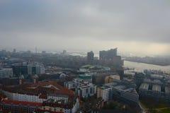 汉堡视图 免版税库存照片