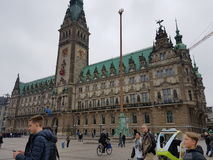 汉堡视域  免版税图库摄影