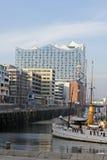 汉堡,德国-新的Elbphilharmonie 免版税库存照片