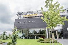 汉堡,德国- 2017年7月13日:捷豹汽车陆虎自动PLC是陆虎限制捷豹汽车的控股公司  免版税库存图片