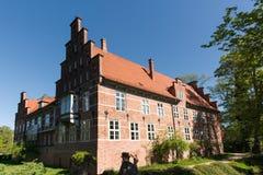 汉堡Bergedorf,德国城堡  免版税图库摄影