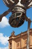 汉堡kunsthalle纵向雕塑 免版税库存照片