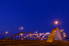 汉山桥梁 库存照片