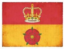 汉普郡大英国的难看的东西旗子 免版税库存照片