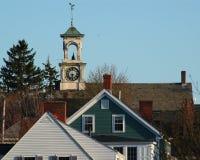 汉普郡风景新的波兹毛斯 免版税图库摄影