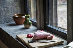 汉普顿法院宫殿,皇家厨房 免版税库存图片