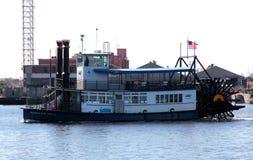 汉普顿路海洋运输轮渡 免版税库存照片