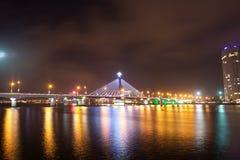 汉江桥梁 库存照片
